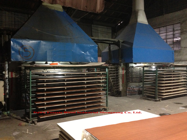 melamine plywood hot press equipment 002